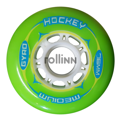 KOŁA GYRO HOCKEY GREEN 76MM / 80A